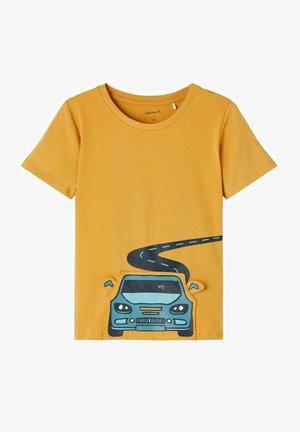 T-shirt print - spruce yellow