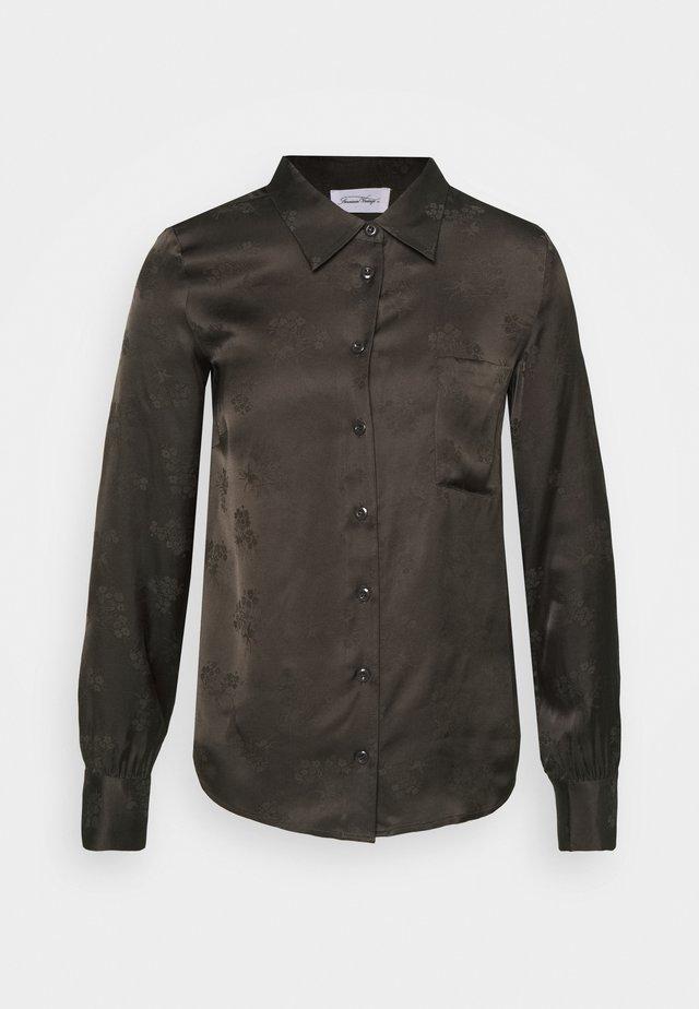GITAKA - Button-down blouse - carbone