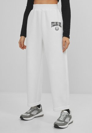 Tracksuit bottoms - stone