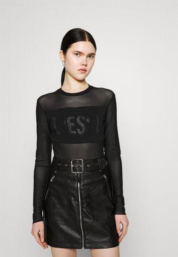 VALERIE - Long sleeved top - black