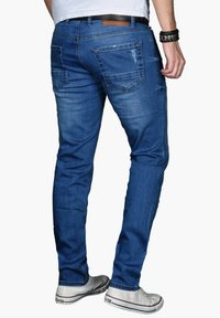 Alessandro Salvarini - Slim fit jeans - blau - 3