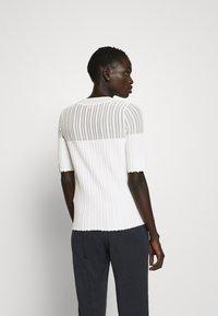 HUGO - SHOMANY - Print T-shirt - natural - 2