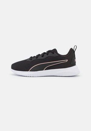 FLYER FLEX UNISEX - Neutral running shoes - white/rose gold/black