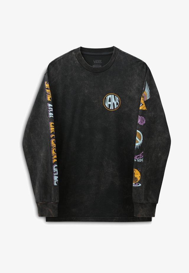 MN INTO THE LIGHT ZL LS - Maglietta a manica lunga - black