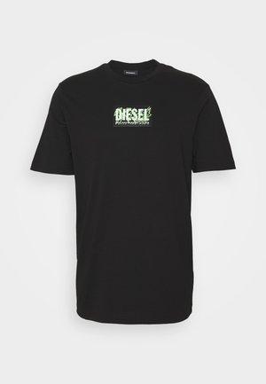 T-JUST-X62 T-SHIRT UNISEX - Print T-shirt - black