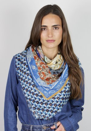 Foulard - blau