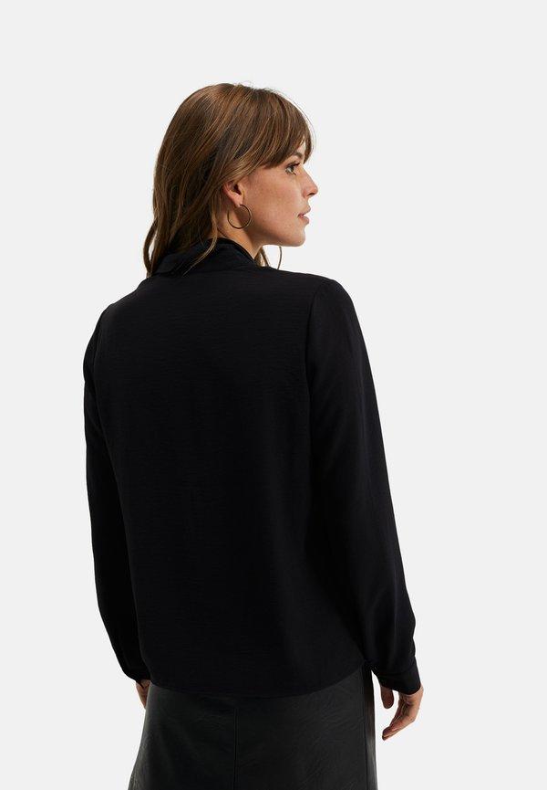 WE Fashion SOLID - Koszula - black/czarny FCAI