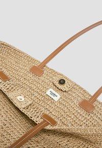 PULL&BEAR - Tote bag - light brown - 3
