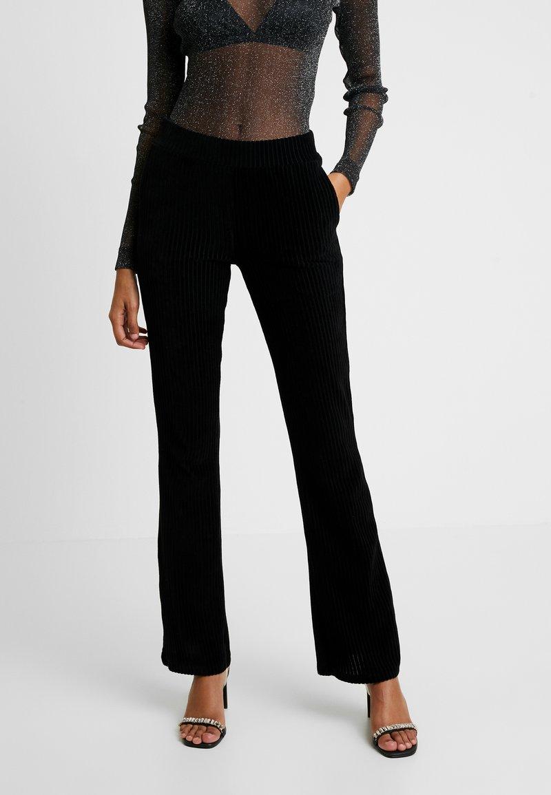 Modström - VISTA PANTS - Trousers - black