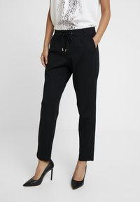 s.Oliver - SMART - Trousers - black - 0