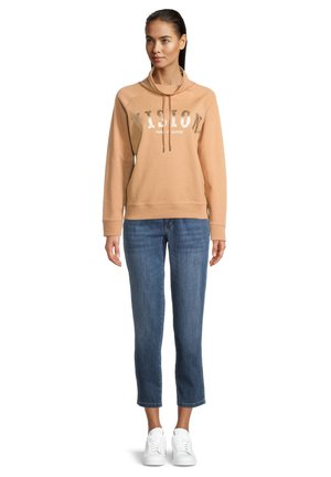 CASUAL - Sweatshirt - camel melange