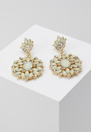 PCYELLOW EARRINGS - Orecchini - gold-coloured