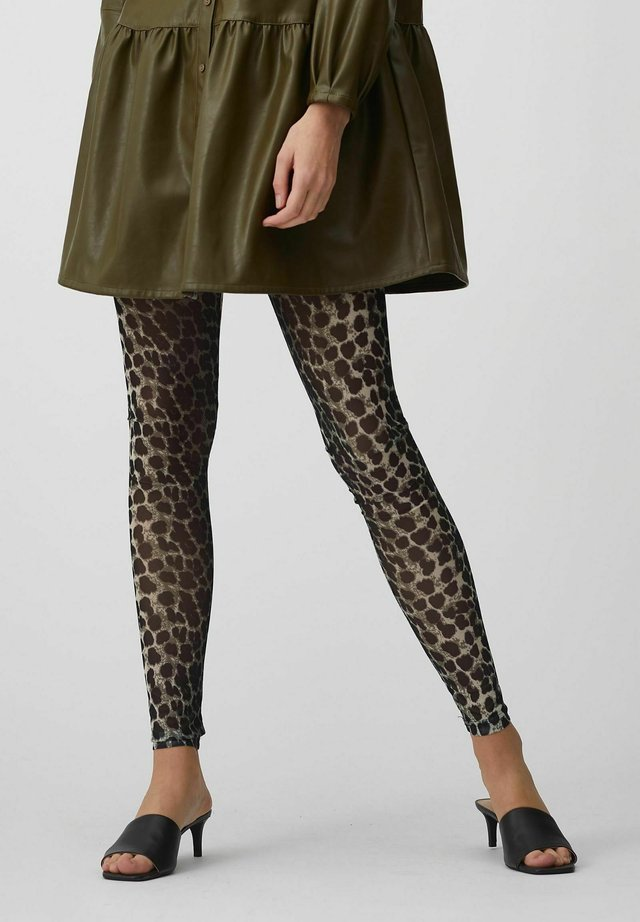 JUDITH - Legging - leopard