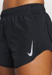 Nike Performance - TEMPO HI-CUT - Pantalón corto de deporte - black/black/reflective silver - 4