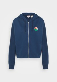 Levi's® - GRAPHIC ZIP SKATE HOODIE - Zip-up hoodie - dark blue - 4