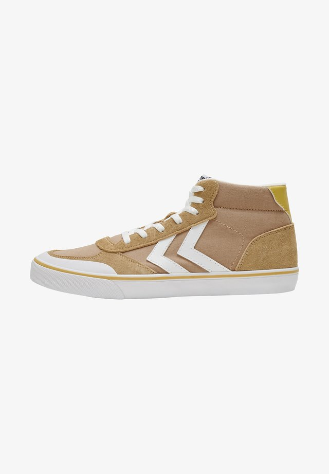 STADIL MID - Sneakersy niskie - lark melange