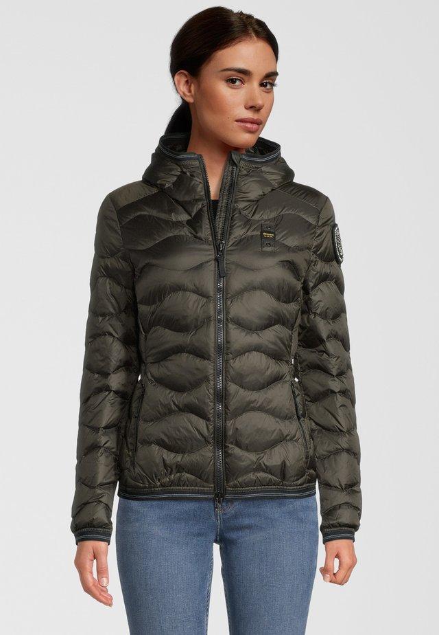 Down jacket - grey green