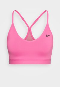 INDY BRA - Sujetador deportivo - pink glow/black