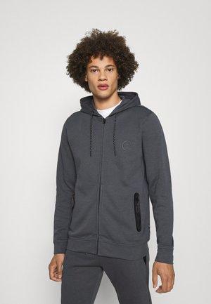 ISCAR - Sweat à capuche zippé - mid grey