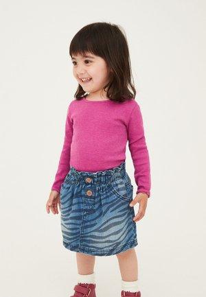 Denimová sukně - coloured denim