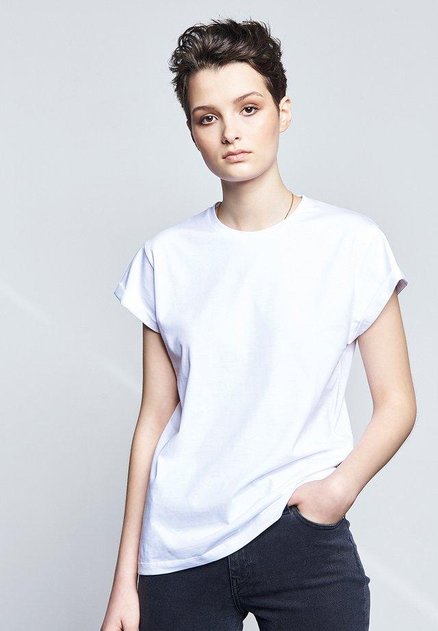 FRIEND - Basic T-shirt - white