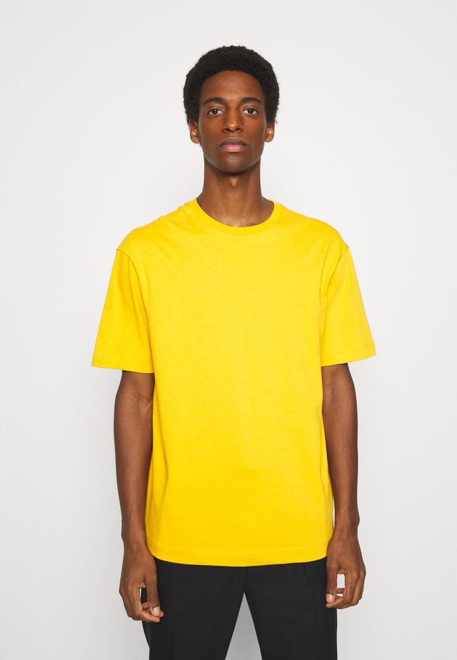 SLHLOOSEGILMAN O NECK TEE - Basic T-shirt - mango mojito