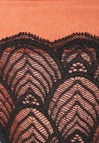 LASCANA - Thong - black/copper - 2