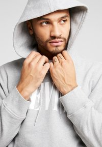 Levi's® - RELAXED GRAPHIC HOODIE - Huppari - mid tone grey heather - 3