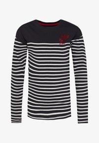 WE Fashion - T-shirt à manches longues - black/white - 0