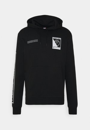 STEEP TECH LOGO HOODIE UNISEX - Sweat à capuche - black