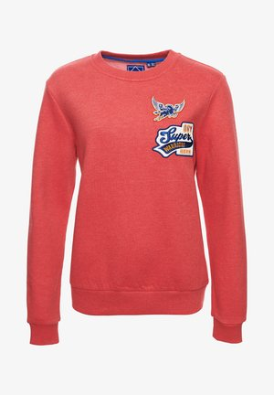 STANDARD PATCH  - Sweatshirt - cali red heather