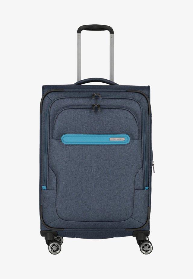 MADEIRA - Wheeled suitcase - marine turquoise