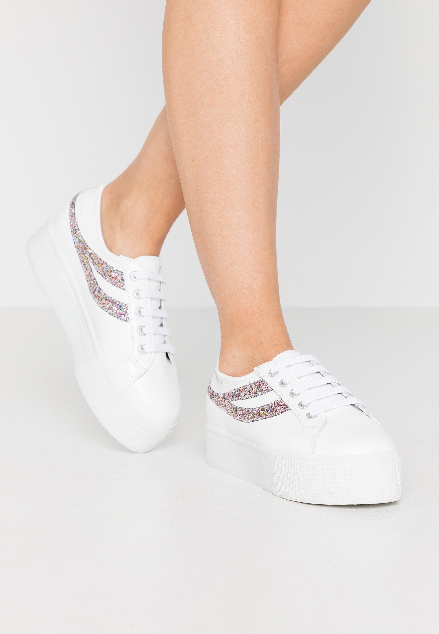 Gutes Angebot Superga 2790 - Sneaker low - white/silver/multicolor | Damenbekleidung 2020