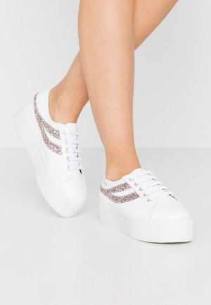 2790 - Sneakers laag - white/silver/multicolor