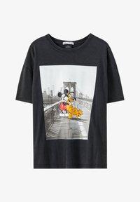PULL&BEAR - T-shirts print - black - 4