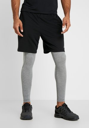 Tights - smoke grey/black
