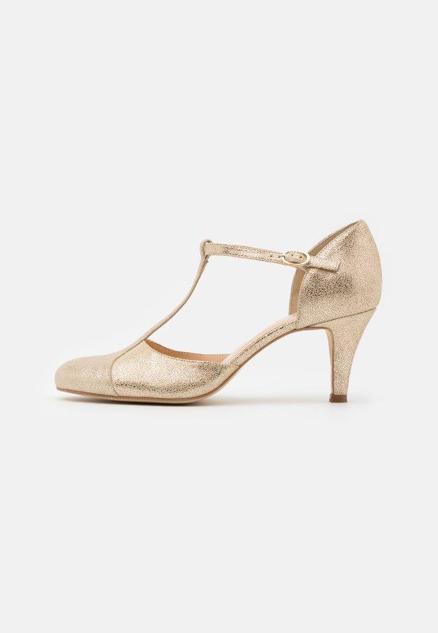 Classic heels - platine