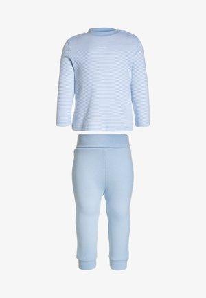 LONG BASIC RINGEL BABY - Pyjama set - softblue