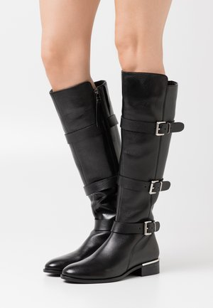 MOONLIGHT - Kovbojské/motorkářské boty - black
