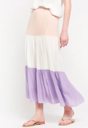 Maxi skirt - nude