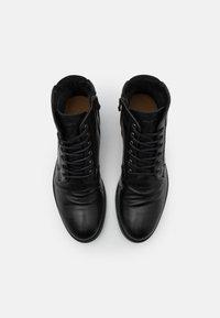 ALDO - OLIELLE - Šněrovací kotníkové boty - black - 3