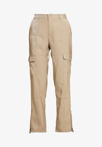 JOELL CARGO PANTS - Cargo trousers - tiger's eye