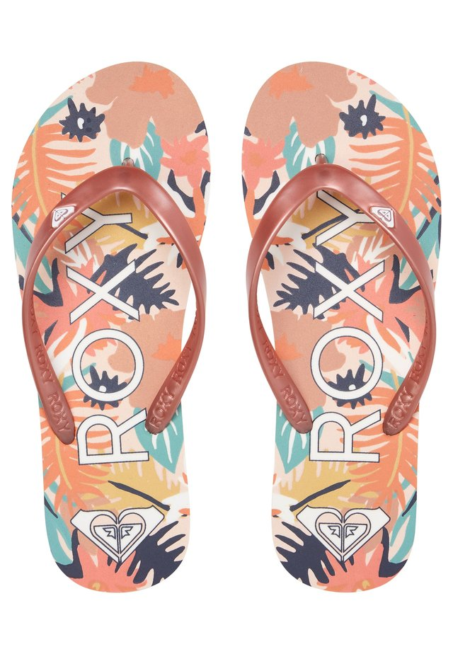 TAHITI VII - Sandalias de dedo - rose gold