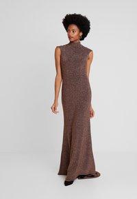 Jarlo - HART - Společenské šaty - bronze - 2