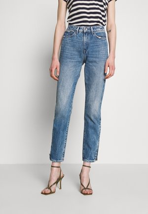 HEIDI ZIP FLORIDA - Jeans Straight Leg - blue