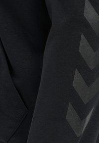 Hummel - HMLISAM  - Zip-up sweatshirt - black - 6