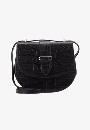 KIM SATCHEL BAG - Across body bag - black