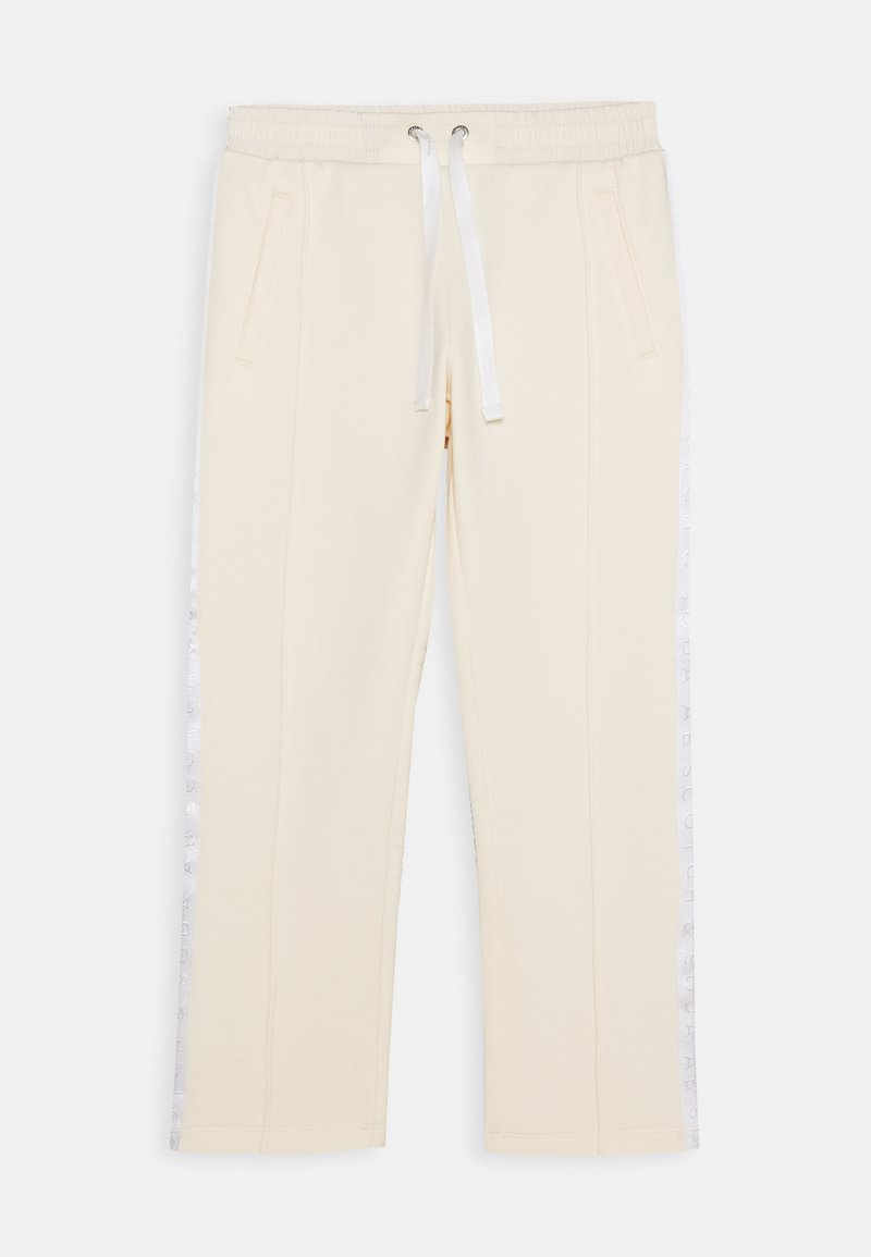 Scotch & Soda - CLUB NOMADE RELAXED PANTS - Tracksuit bottoms - ecru