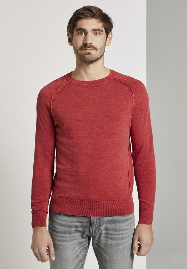 Jumper - brilliant red