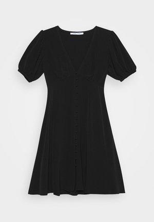 PETUNIA SHORT DRESS - Shirt dress - black